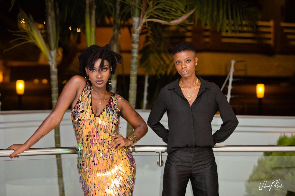 Ebony and Franky Kuri
