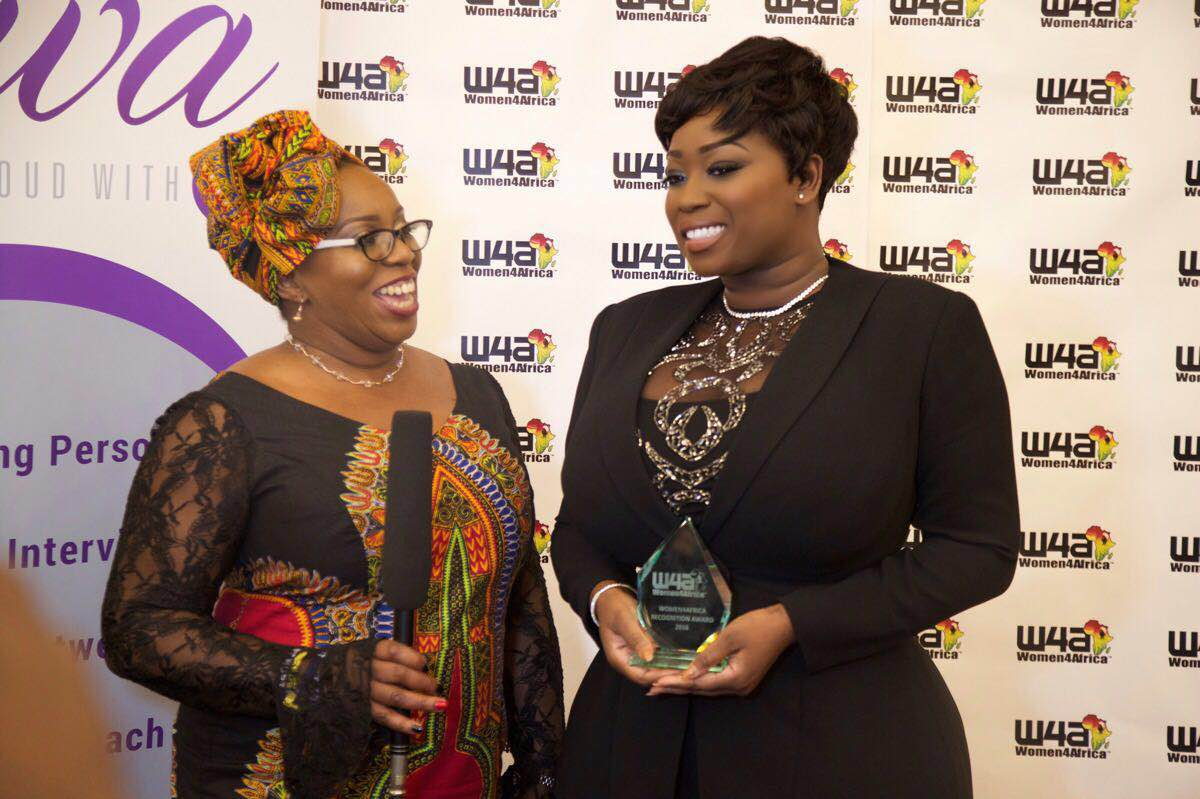 peace hyde wins Women4Africa Awards UK