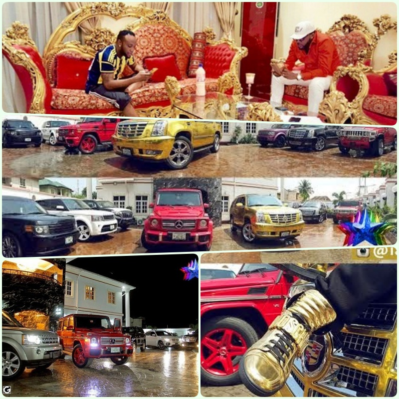 lifestyle of the rich famous see photos of kcee 39 s home cars shoe collection and more. Black Bedroom Furniture Sets. Home Design Ideas