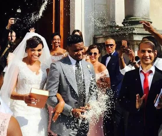 Samuel Eto'o marries Georgette Tra Lou