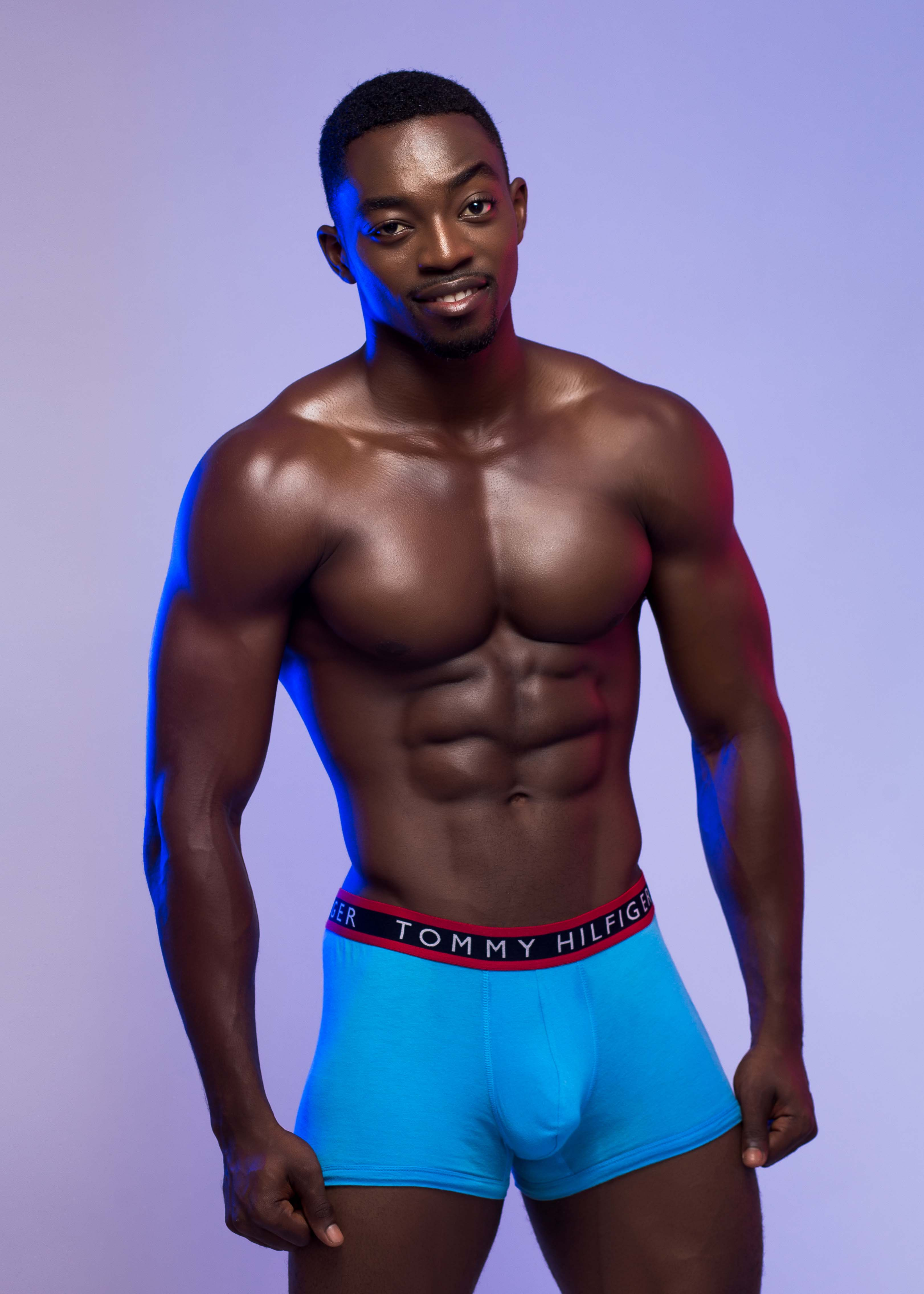 Meet Gh Hunk For February Terrence Kwapong Terrence Sero