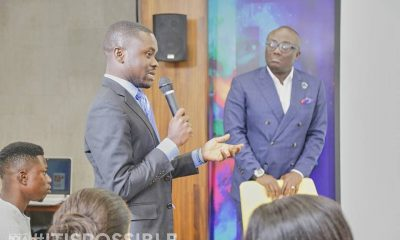 Bola Ray mentors 30 young business leaders
