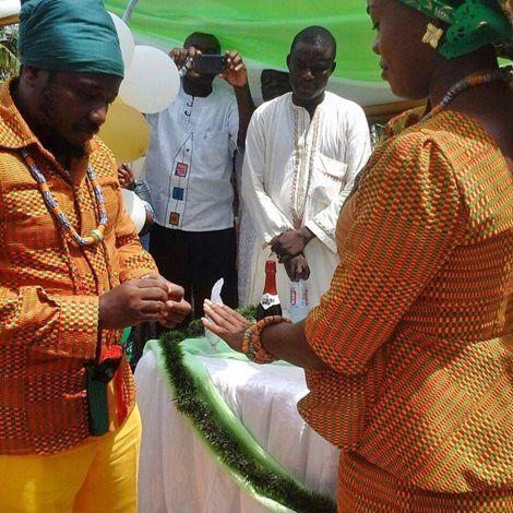Rastafarian marriage ceremony