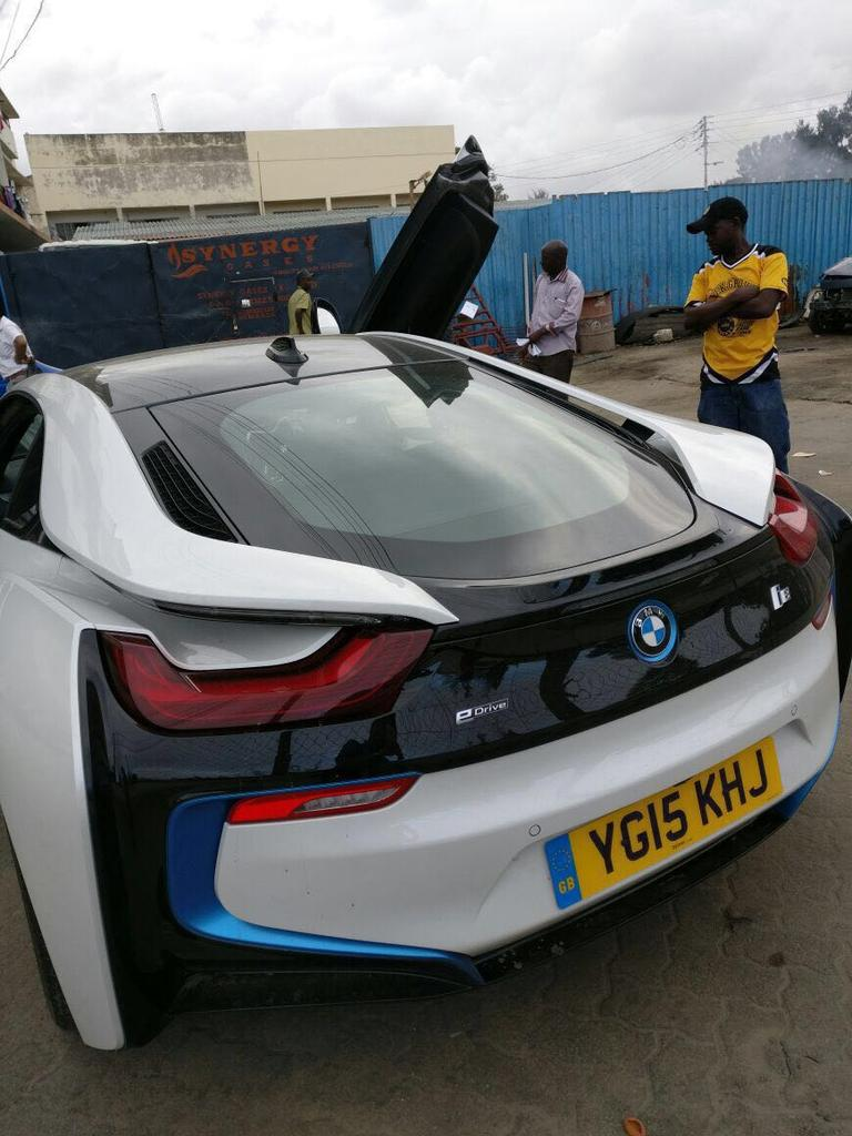 Dj Turned Event Planner Wows Kenyans With Hybrid Bmw I8 Luxury