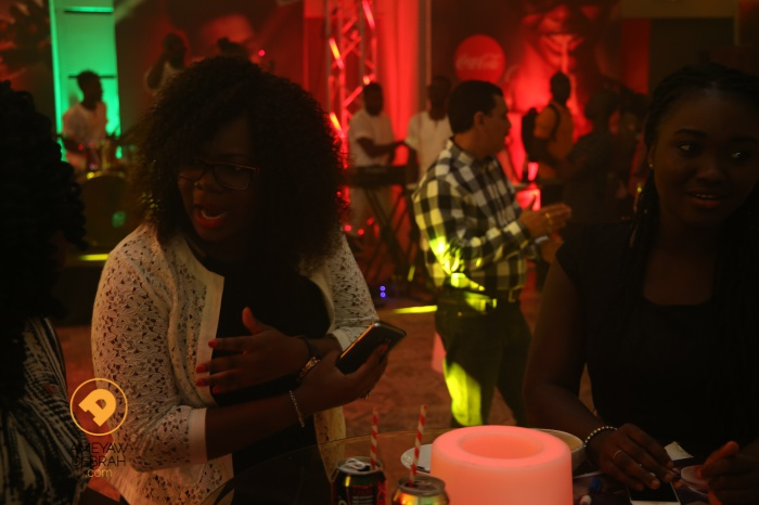 coca cola taste the feeling ghana launch13