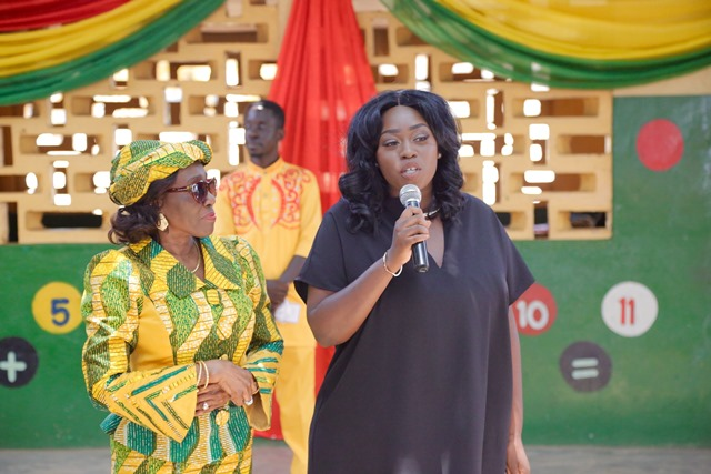 Nana Konadu Agyeman Rawlings And Peace Hyde Launch New Technology  Initiative For 31st December Women Movement Early Development School    AmeyawDebrah.Com