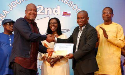 Kwami Sefa Kayi crowned Ghana's Journalist of the Year