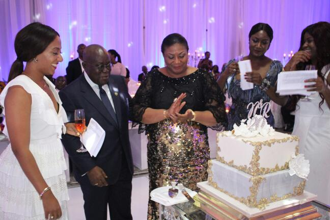 See all the photos from akufo addo the first lady s th wedding