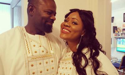 Obaapa Christie and Husband