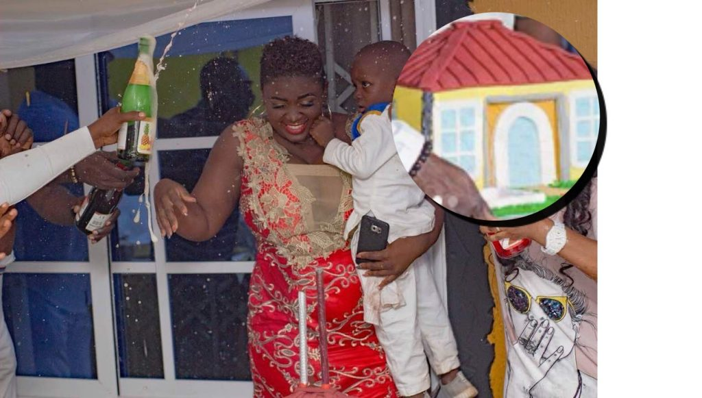 Kumawood Tracey Boakye Share More Beautiful photos Of Her Son's Birthday