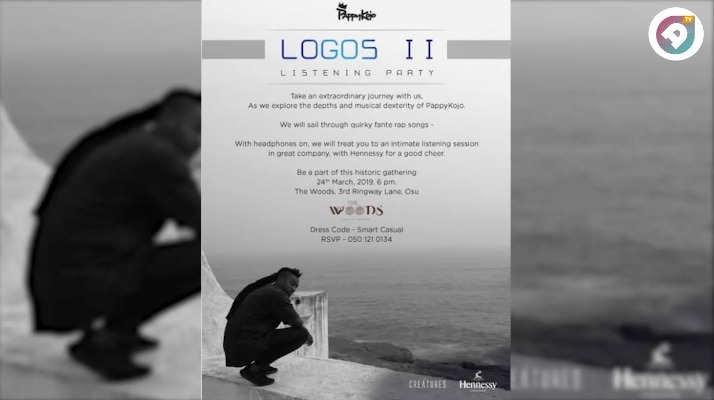Watch: Highlights from Pappy Kojo's LOGOS II listening party.