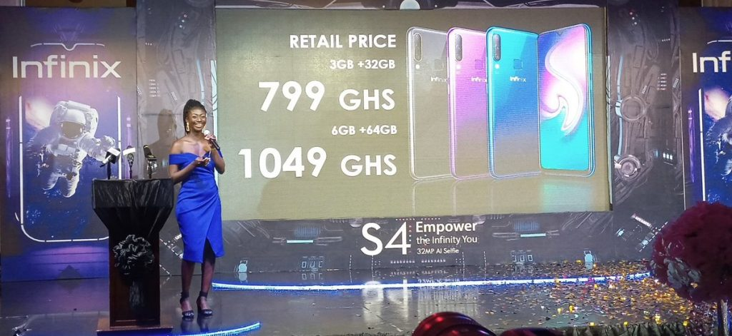 Infinix S4, the revolutionary 32mp selfie smartphone launched in Ghana