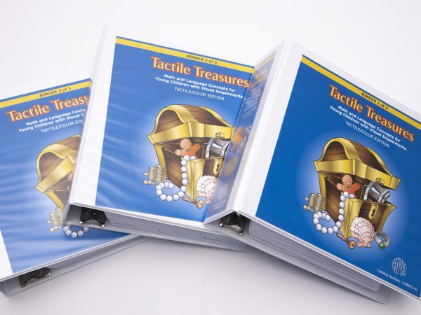 Tactile Treasures three Folders Side by Side