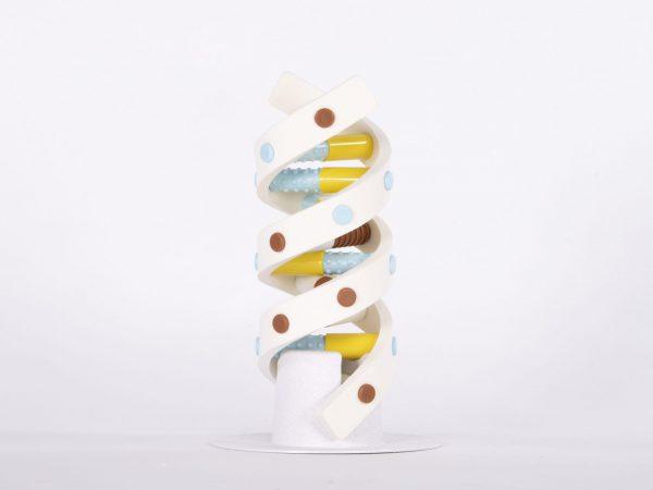 DNA Twist Helix compressed