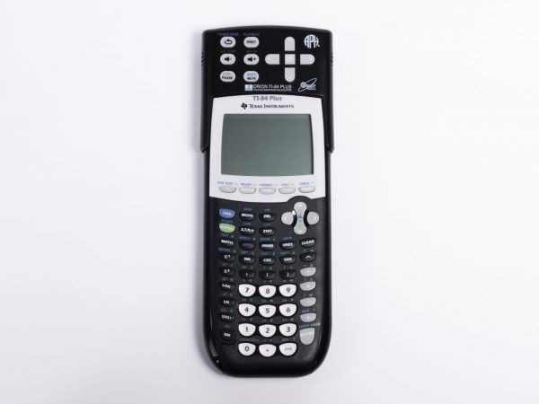 Front or face view of Orion TI-84 Talking Graphing Calculator