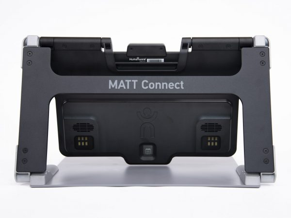MATT Connect rear view displayed unfolded with camera and lighting array in view