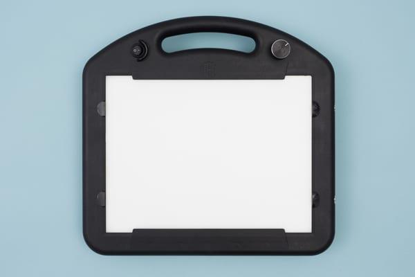 Overhead view of LED mini Lite Box