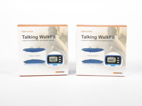 Talking WalkFit Front of Two Product Boxes