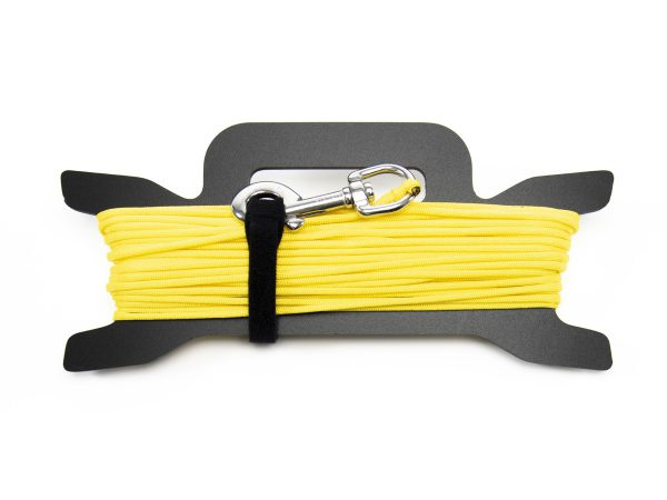 Close up of Walk Run for Fitness guide rope with rope caddy