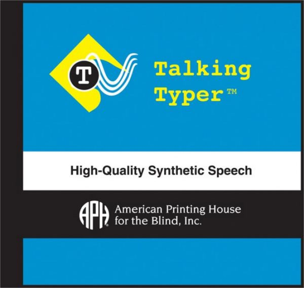 Talking Typer CD cover with logo