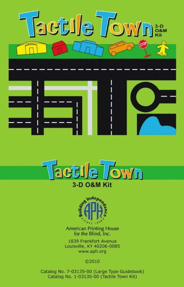 Tactile Town guidebook cover