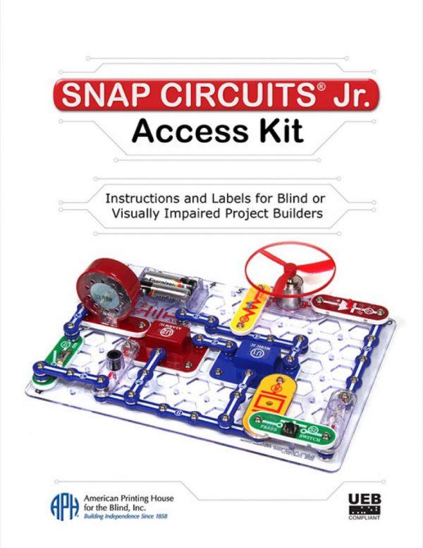 Snap Circuits Jr. guidebook cover