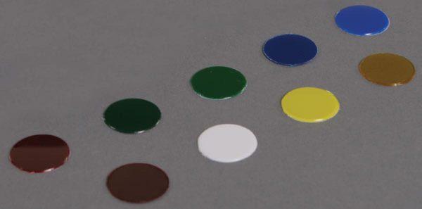 Nine colored lens for SLK flashlight