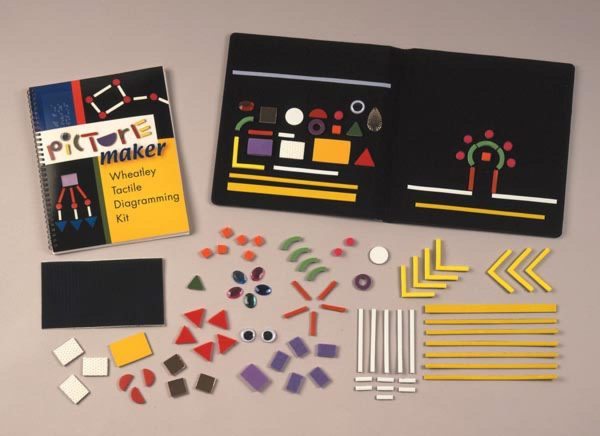 Picture Maker Wheatley Tactile Diagramming kit components