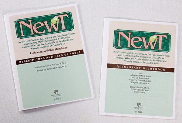 NewT Guidebook set components