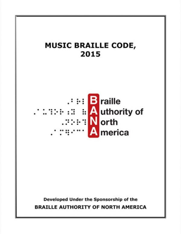 Music Braille Code, 2015 book cover