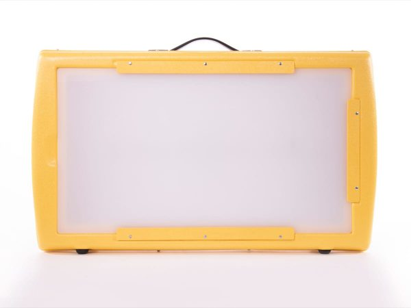 Front or face view of Light Box screen