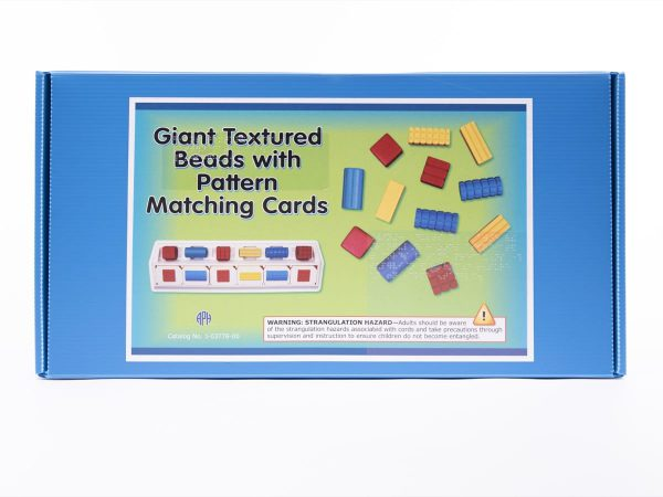Giant Textured Beads with Pattern Matching Cards Box