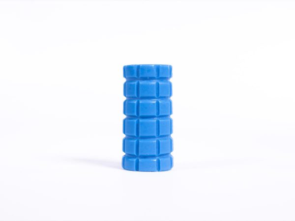 Giant Textured Beads grid blue cylinder
