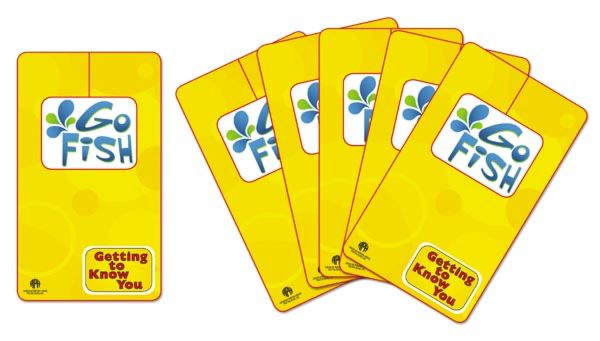 Back view of Go Fish Cards from Getting to Know You