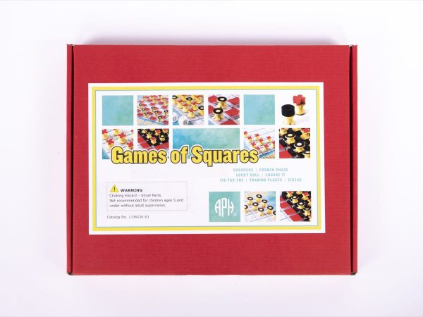 Games of Squares box cover