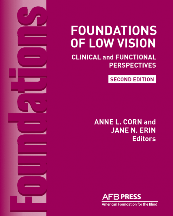 Foundations of Low Vision Second Edition book cover