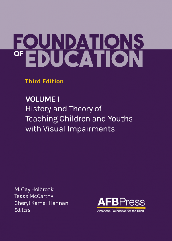 Foundations of Education Third Edition Volume 1 book cover