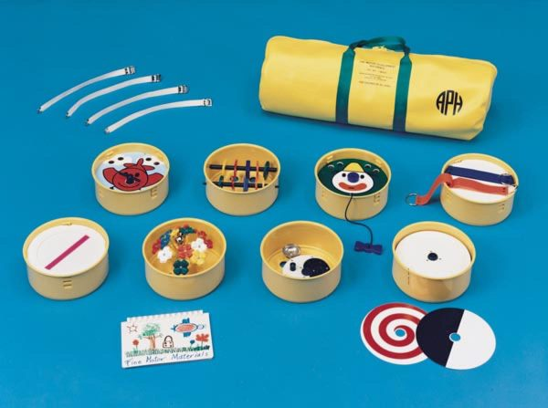 Fine Motor Development Materials kit components