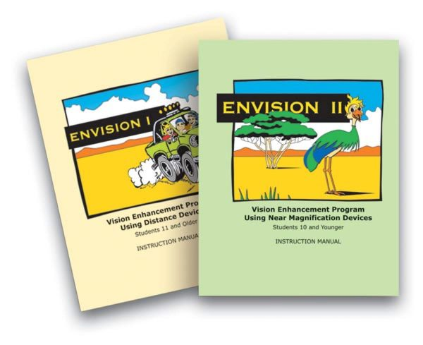 Envision 1 and 2 Instruction Manual covers
