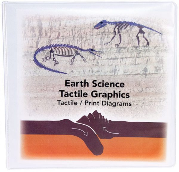 Earth Science Tactile Graphics binder cover