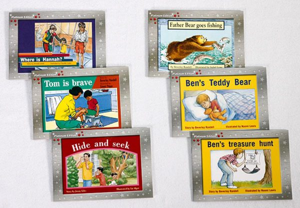 Early Braille Trade Books Rigby PM Platinum Edition Kit 3 components