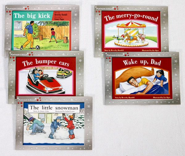 Early Braille Trade Books Rigby PM Platinum Edition Kit 2 components