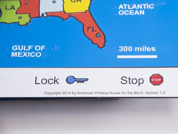 Interactive U.S. Map close up Gulf of Mexico