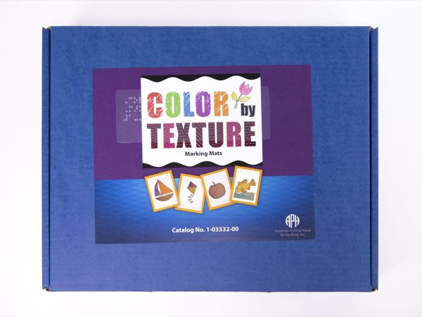 Color By Texture Marking Mats packaging