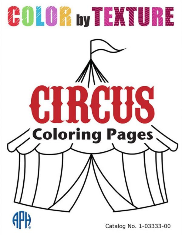Color by Texture CIRCUS Coloring Pages