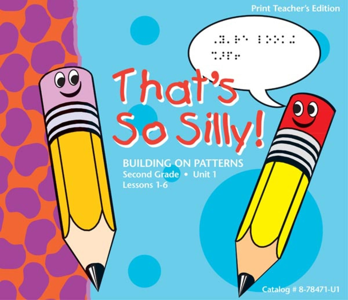 Unit 1 Teachers Edition Cover