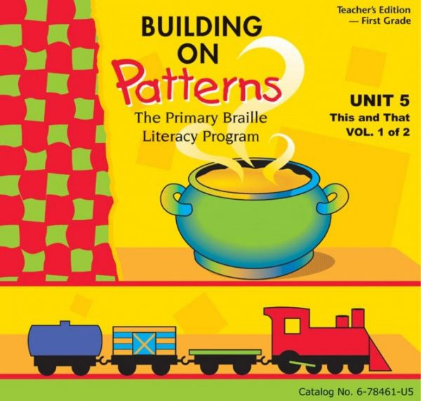 Building on Patterns First Grade Unit 5 Teachers Edition
