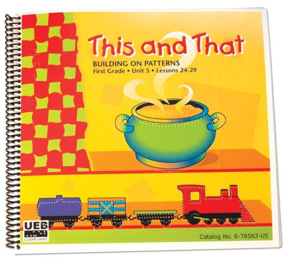Building on Patterns First Grade Unit 5 Student Textbook