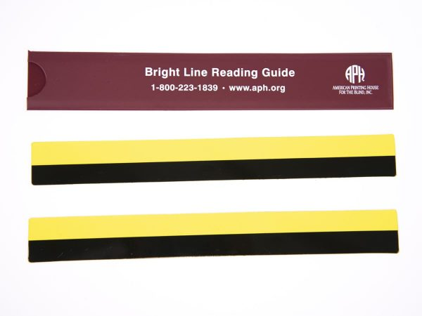 Bright Line Reading Guide in yellow