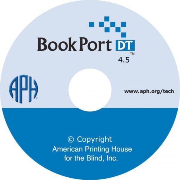 Book Port DT CD label with logo